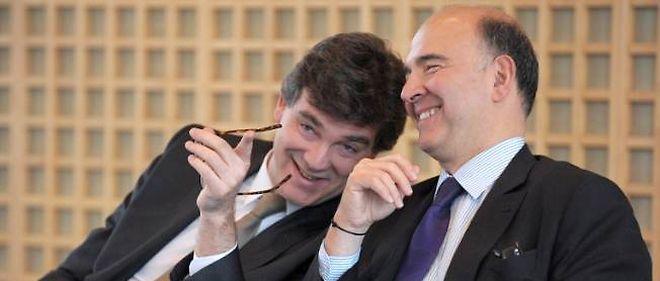 Arnaud Montebourg et Pierre Moscovici