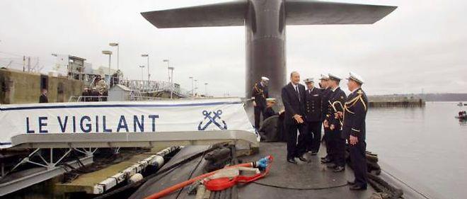 Le sous-marin Le Vigilant en janvier 2006.