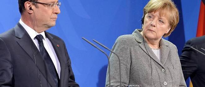 """François Hollande assure entretenir une relation de """"tension amicale"""" avec l'Allemagne."""