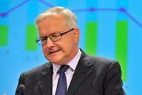 Olli Rehn dit avoir confiance en la France, mais lui rappelle sans cesse ses objectifs budgétaires. ©GEORGES GOBET