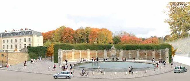 Le réaménagement des étangs Gobert par Michel Desvigne