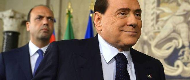 Silvio Berlusconi, le 13 avril 2013 à Rome.