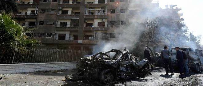 Damas, le 21 février 2013.