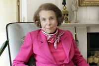 Liliane Bettencourt, en 2011.