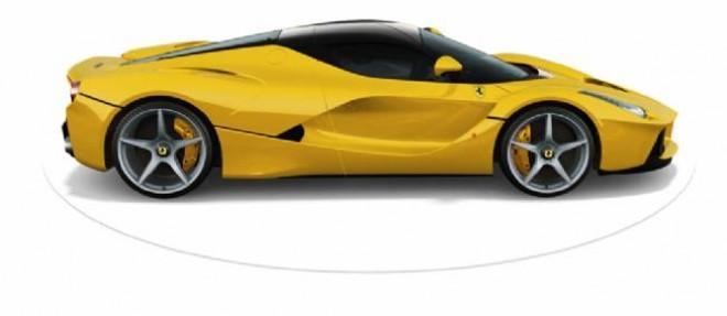Vendue 1 million d'euros pièce, la nouvelle LaFerrari verra sa production limitée à 499 exemplaires pour garantir son caractère exclusif.