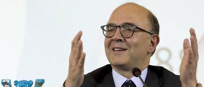 Pierre Moscovici, le ministre de l'Économie et des Finances.