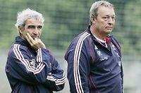 Raymond Domenech et Jean-Pierre Paclet en 2007. ©Michael Sawyer