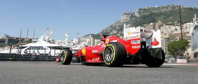 Alonso l'an dernier sur le circuit de Monaco, où il avait terminé 3e, derrière Webber et Rosberg.