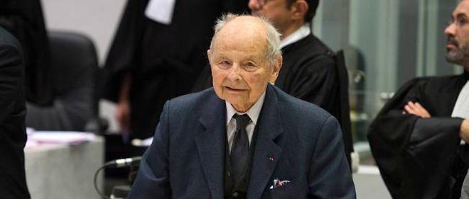 Jacques Servier a assisté à l'audience de reprise du procès, mardi.