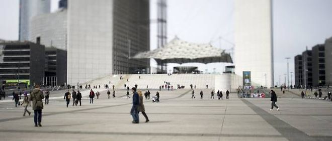 Le quartier de la Defense, exemple de l'attractivite de la metropole parisienne.