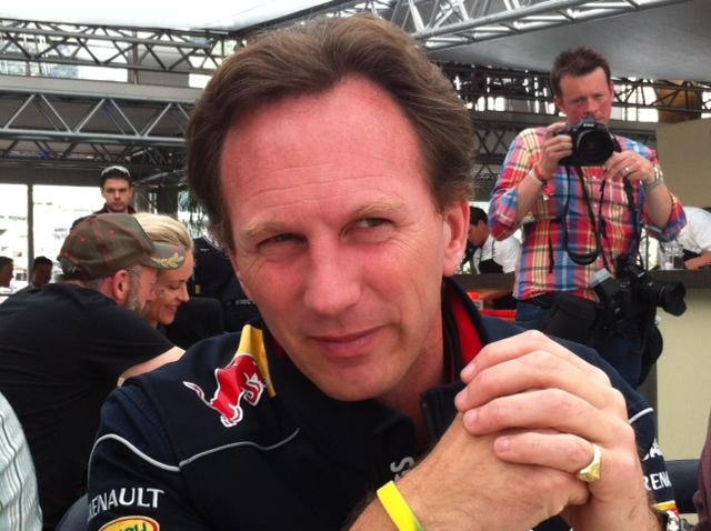 Chrsitian Horner, le diretceur et str&tège de l'écurie Red Bull