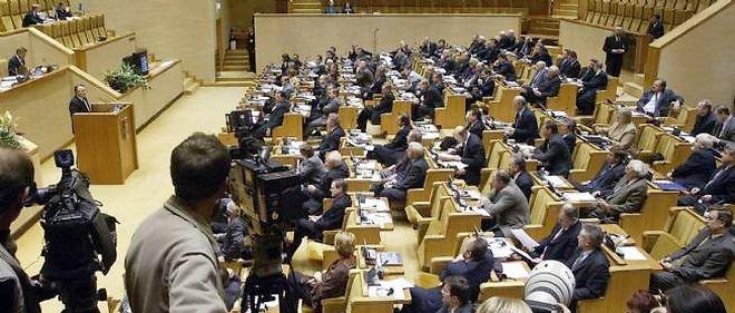 Le Parlement lituanien.