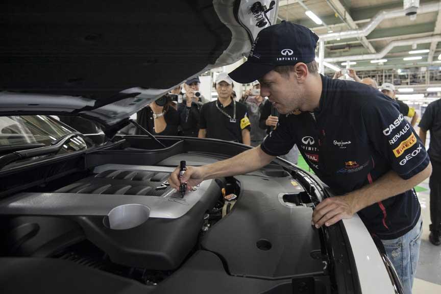 Vettel n'est pas la pour la forme et s'il signe un moteur de la FX, c'est qu'il l'a approuvé jusqu'au dernier boulon