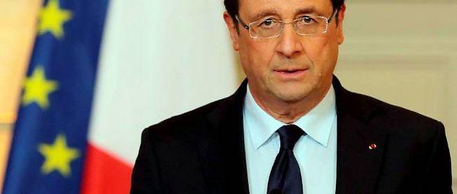 François Hollande, le 11 janvier 2013, à Paris.