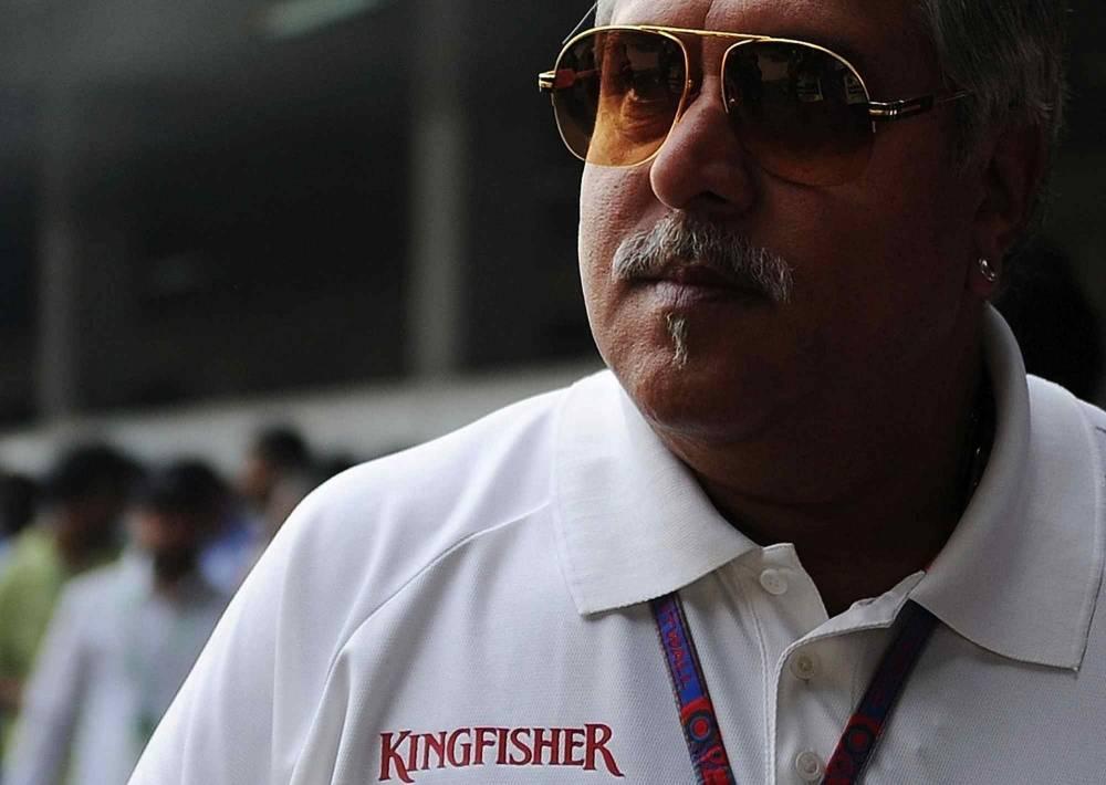 Vijay Mallya ne cache pas son inquiétude pour l'an prochain. © MANAN VATSYAYANA / AFP ©  MANAN VATSYAYANA / AFP