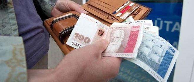 L'euro devrait replacer le lats.