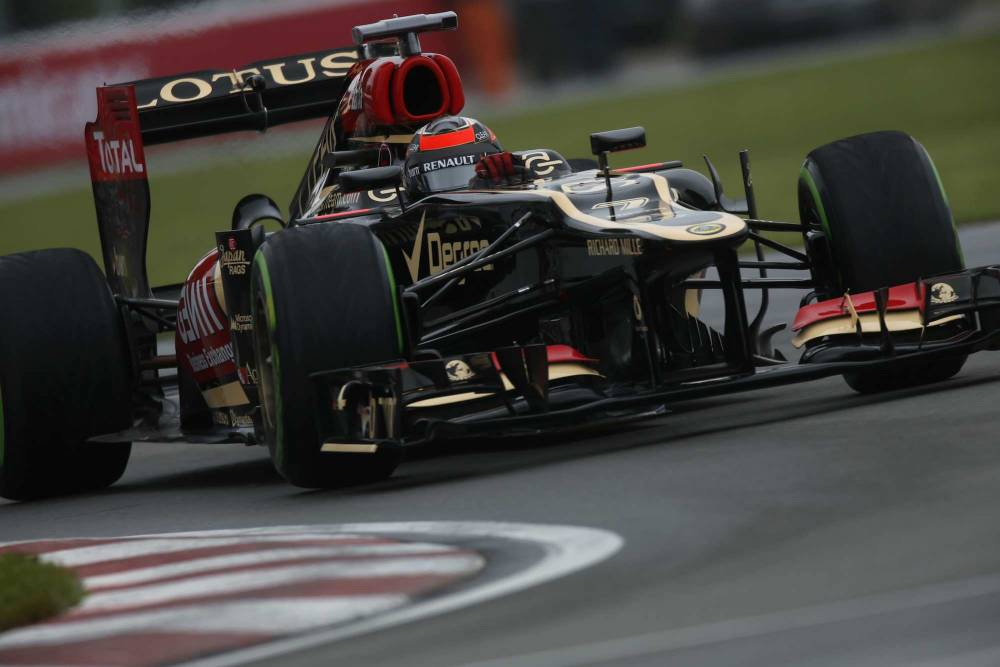 Kimi Räikkönen, lors des qualifications © Andrew Ferraro/Lotus F1 Team ©  Andrew Ferraro/Lotus F1 Team
