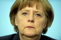 L'Allemagne d'Angela Merkel est à l'origine des deux blocages idéologiques de la zone euro. ©JOHANNES EISELE
