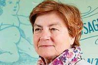 Mireille Schwartz directrice de l'entreprise Papier d'Arménie. ©Marta NASCIMENTO/REA pour Le Point