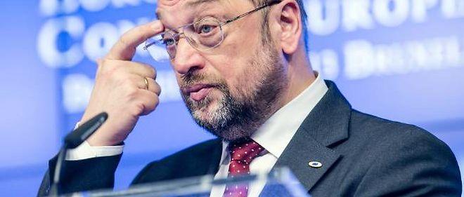 Martin Schulz, le président du parlement européen, le 7 février 2013.