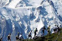 Le marathon du Mont-Blanc, dans un cadre à couper le souffle. ©JMKconsult