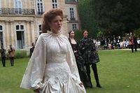 La mariée de Franck Sorbier à l'Ambassade de Suisse. ©DR