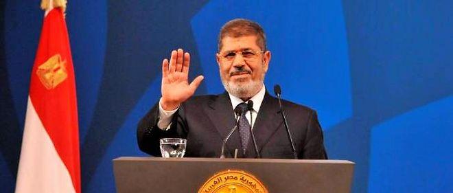 Le président égyptien Mohamed Morsi, fin mai 2013.