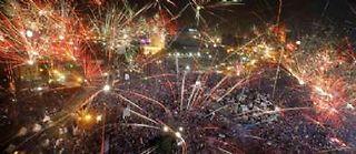 Place Tahrir, au Caire, le 3 juillet 2013. ©Amr Nabil/AP / Sipa