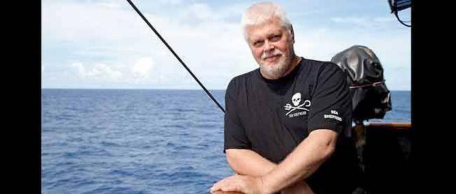 Paul Watson, fondateur de Sea Shepherd