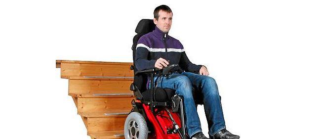 Le fauteuil roulant tout escalier
