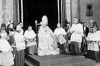 Le pape Jean XXIII en 1958. ©Dalmas