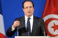 François Hollande n'a pas eu un mot pour Amina en Tunisie, déplore Daniel Salvatore-Schiffer ©Fethi Belaid / AFP