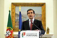 Pedro Passos Coelho, le Premier ministre portugais s'est dit prêt à envisager un dialogue avec l'opposition socialiste qui réclame toujours des législatives anticipées. ©HENRIQUES DA CUNHA