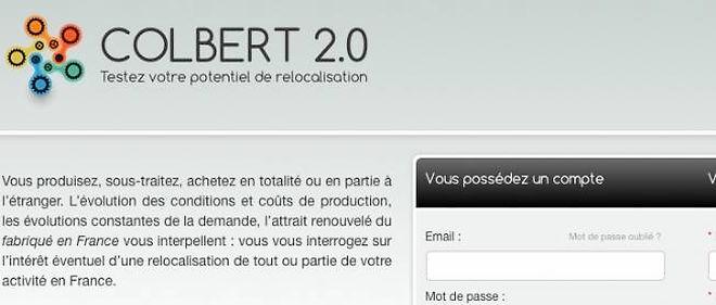 Capture d'écran Colbert2-0.fr