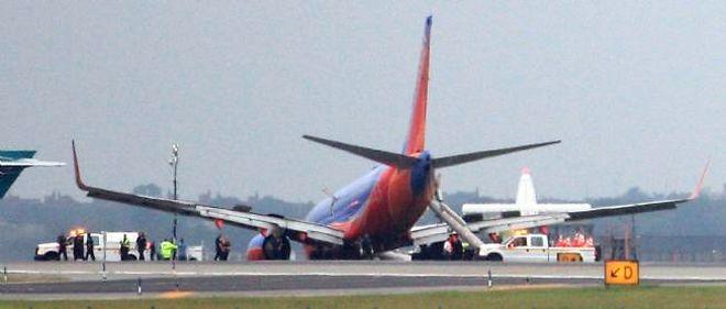 Un avion en provenance de Nashville a atterri en catastrophe à l'aéroport de La Guardia.