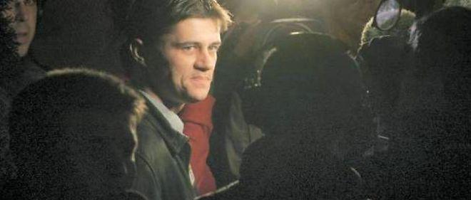 Daniel Legrand fils lors de son acquittement, en 2006.