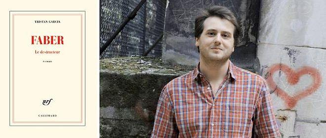 """Tristan Garcia publie """"Faber"""" chez Gallimard."""