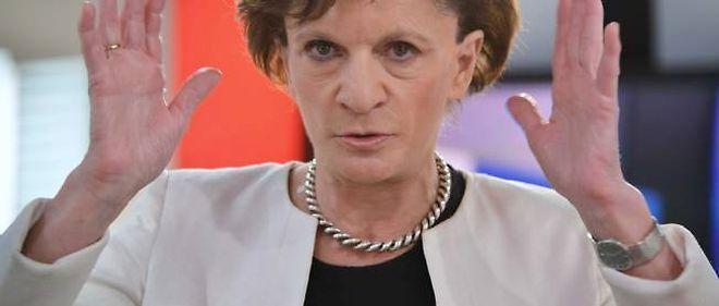 Michèle Delaunay sur le plateau de LCI le 4 février.