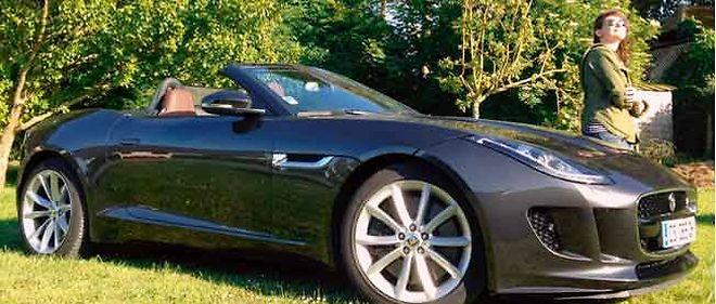 La Jaguar F-Type