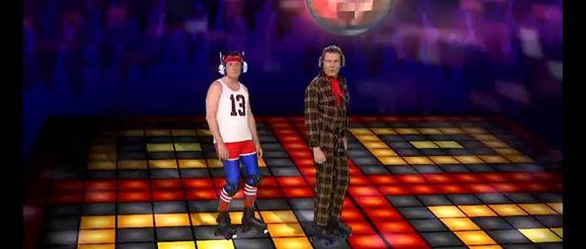 Le présentateur Stephen Colbert et l'acteur Bryan Cranston.