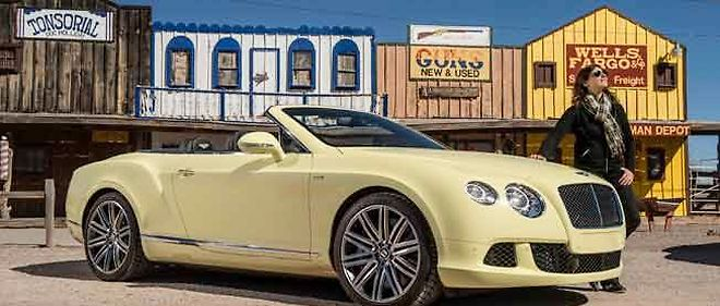La Bentley Continental GT Speed Cabriolet