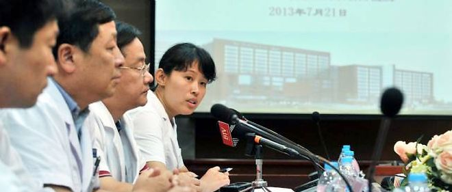 Des médecins chinois annoncent la contamination d'un nouveau patient.