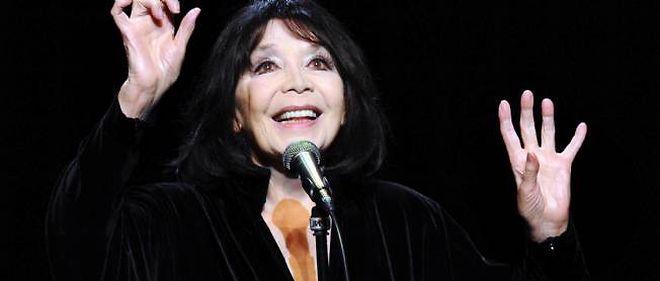 Juliette Gréco, le 24 janvier 2013.