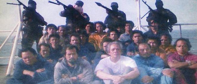 Une prise d'otage en 2009 dans l'océan Indien (photo d'illustration).