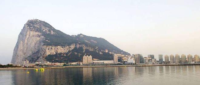 Le rocher de Gibraltar.