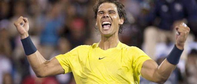 Rafael Nadal a éliminé samedi le Serbe Novak Djokovic en demi-finale du tournoi de tennis de Montréal.