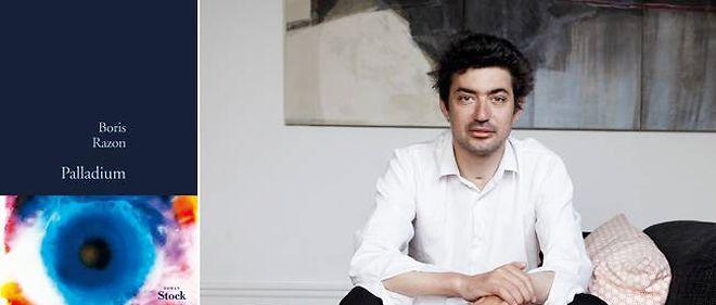 """Boris Razon, auteur de """"Palladium""""."""