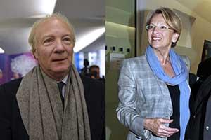 Brice Hortefeux et MAM