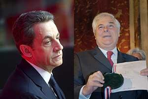 Nicolas Sarkozy et Pascal Clément