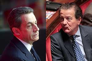 Nicolas Sarkozy et Dominique Perben
